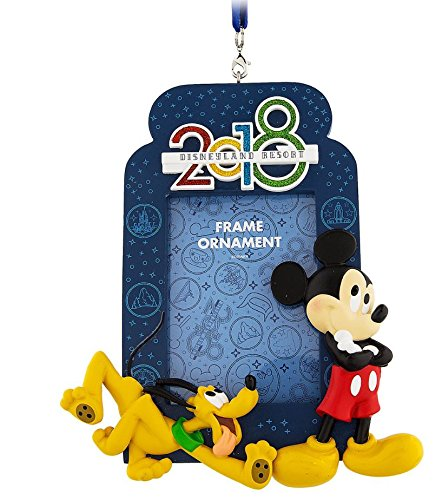 Mickey Mouse and Pluto Frame Ornament 2018 – Disneyland