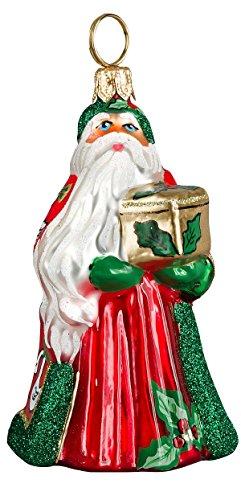 Joy to the World – Glitterazzi Mini 12 Days of Christmas – Seven Swans A Swimming – Blown Glass Ornament