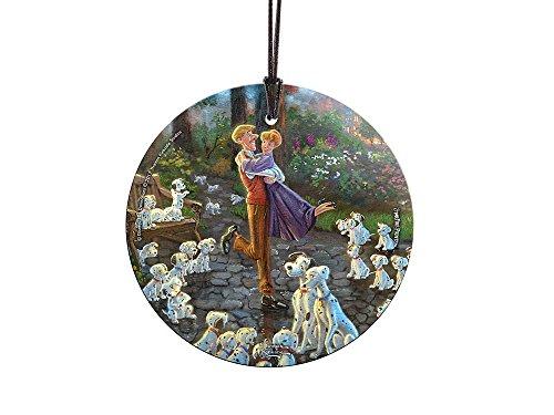 Trend Setters Disney 101 Dalmatians StarFire Prints Hanging Glass