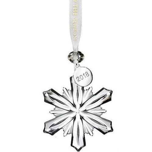 Waterford 2018 Mini Snowflake Ornament 2.5″