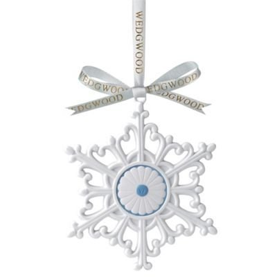 Wedgwood Large Snowflake Christmas Tree Ornament by Wedgwood