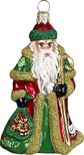Joy to the World – Glitterazzi Mini 12 Days of Christmas – Six Geese A Laying – Blown Glass Ornament