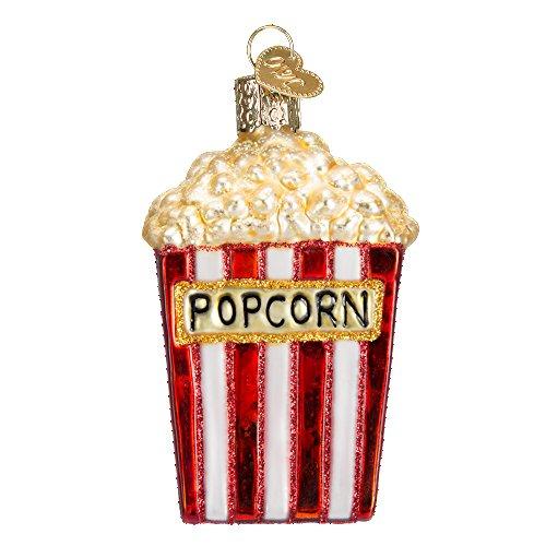 Old World Christmas Junk Food Glass Blown Ornaments (Popcorn)