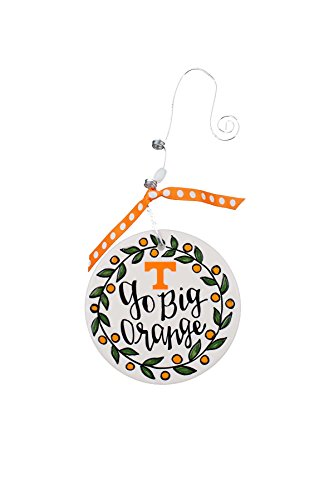 Glory Haus Tennessee Flat Ornament, Multicolor