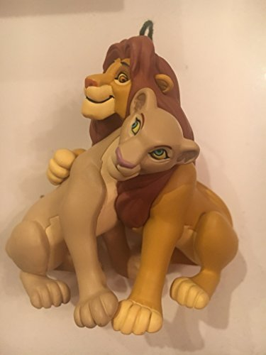 "Hallmark Keepsake ""Simba and Nala Walt Disney's Simba's Pride"" Ornament"