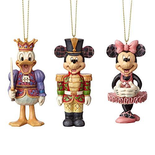 Enesco Disney Traditions Nutcracker Ornament Set