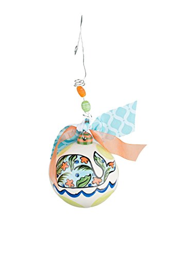 Glory Haus I Whale Always Love You Ball Ornament, Multicolor