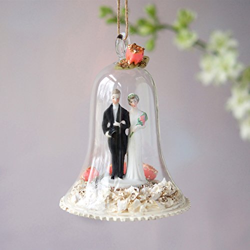 One Hundred 80 Degrees Wedding Dome Ornament