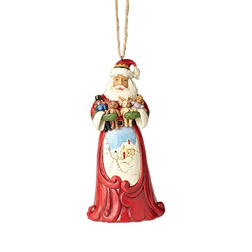 Enesco Jim Shore Hwc Ho Santa Hugging Stuffe