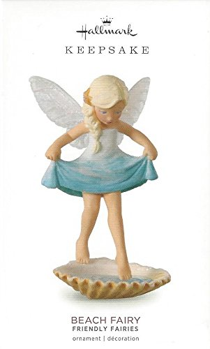 Hallmark 2018 Beach Fairy # 5 in Friendly Fairy Series Ornament