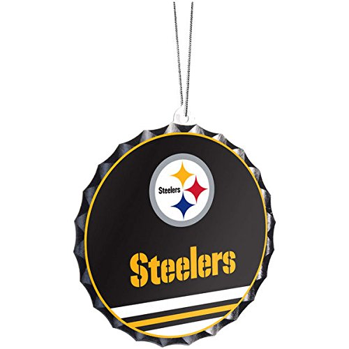 Pittsburgh Steelers Bottle Cap Ornament
