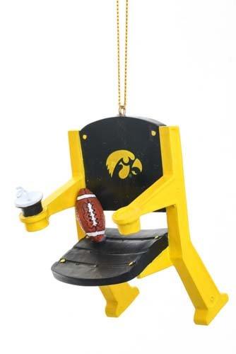 Evergreen Iowa Hawkeyes Ornament Stadium Chair Design