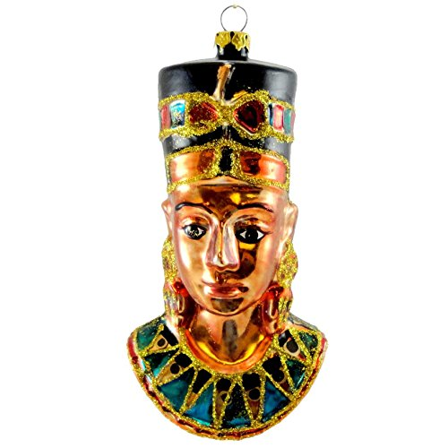 Holiday Ornament EGYPTIAN ORNAMENT TT0300 NEFERTITI Ancient Egypt Tomb New