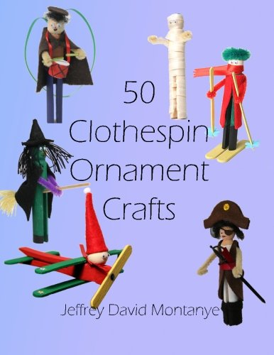 50 Clothespin Ornaments
