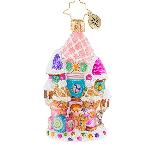 Christopher Radko Candy Castle Christmas Little Gem Christmas Ornament