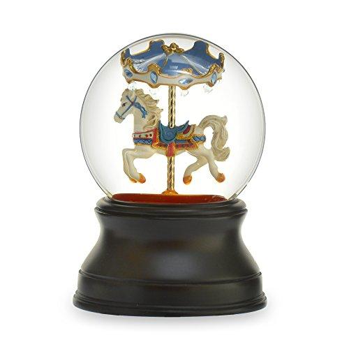 THE SAN FRANCISCO MUSIC BOX COMPANY Gemstone Carousel Horse