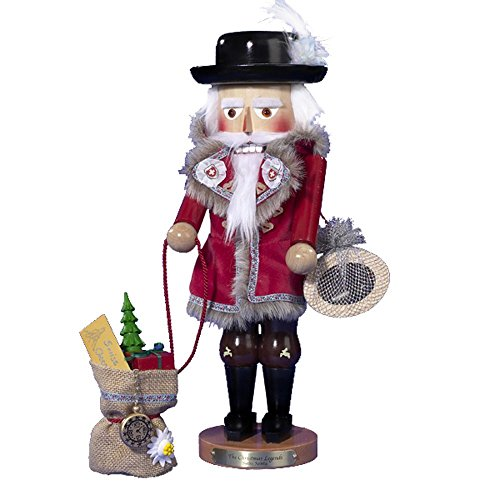 Signed Karla SteinbachSwiss Santa Nutcracker 15th in Christmas Legends Series