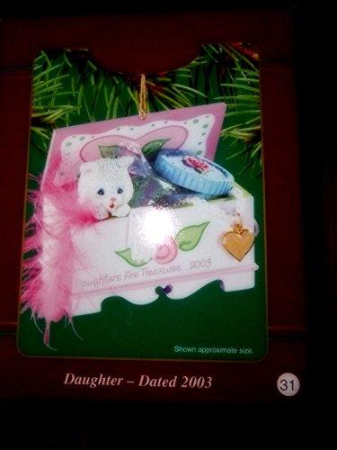 Carlton Heirloom Daughter 2003 Ornament Kitten