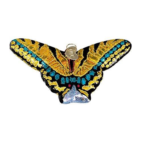 Old World Christmas Spring Garden Glass Blown Ornament (Swallowtail Butterfly)
