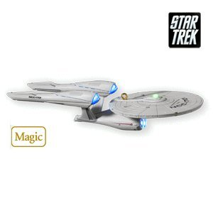USS Enterprise Star Trek 2010 Hallmark Ornament