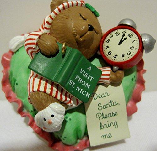 Carlton Cards Christmas Ornament, Roommate Bear