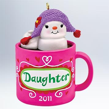 Daughter 2011 Hallmark Ornament