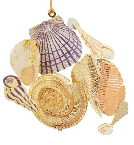 Baldwin Sea Shells 3-1/2-inch Ornament