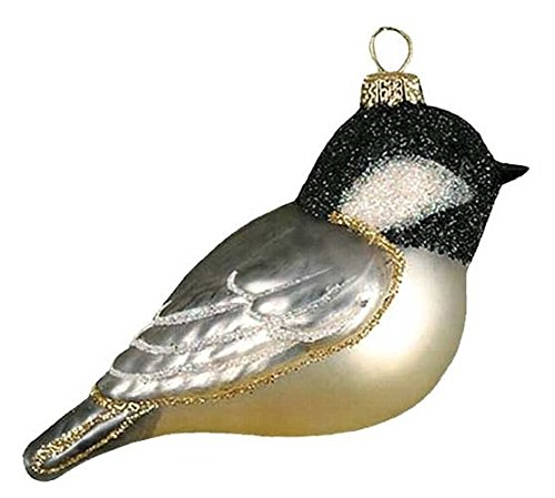 Cobane Studio Black Capped Chickadee Ornament
