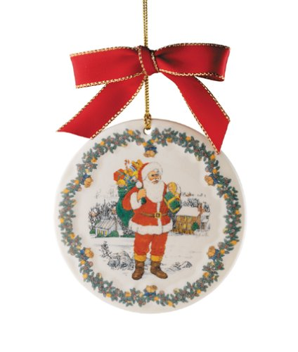 Spode Christmas Tree Ornament 2004 Father Christmas Ornament