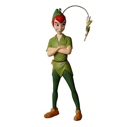 Hallmark Keepsake Christmas Ornament 2018 Year Dated, Disney Peter Pan Faith, Trust & Pixie Dust