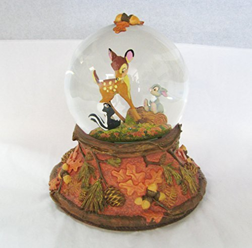 Hallmark Clx2012 Bambi Waterglobe – Forest Friends Forever