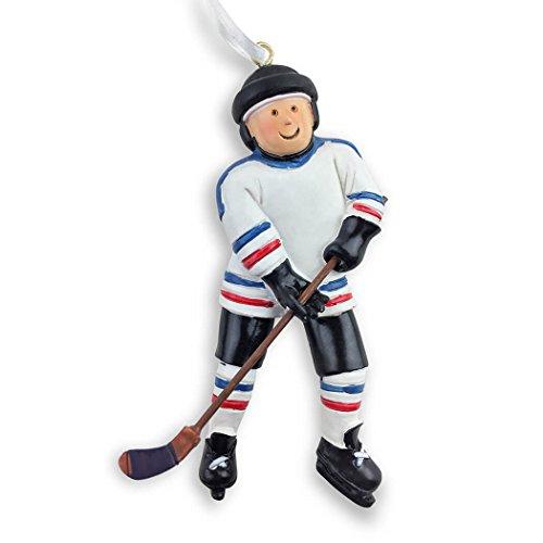 Hockey Player Christmas Ornament | Hockey Ornaments by ChalkTalk SPORTS