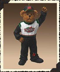 Nascar Bear Ornament