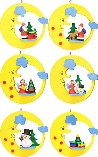Alexander Taron Importer 10-0730 Christian Ulbricht Ornament, Santa