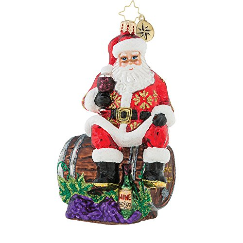 Christopher Radko No Time To Wine Christmas Ornament