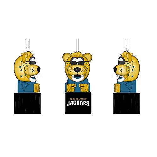 Team Sports America Jacksonville Jaguars Team Tiki Totem Mascot Ornament
