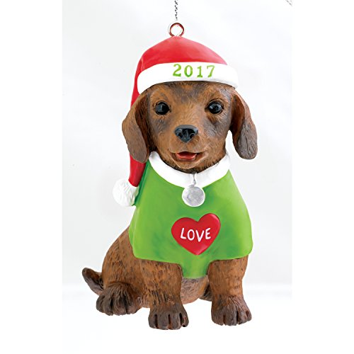 Carlton Heirloom Series Ornament 2017 Puppy Love #17 – #CXOR025M