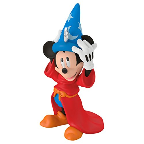 Hallmark Keepsake 2017 Disney Fantasia The Sorcerer's Apprentice Mini Christmas Ornament