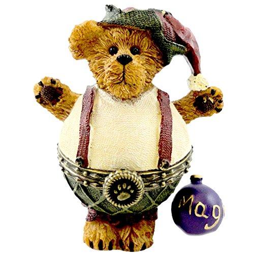 Boyds Bears Resin ALVIN PLUMP WADDLE 4014769 Christmas Treasure Box Elf New