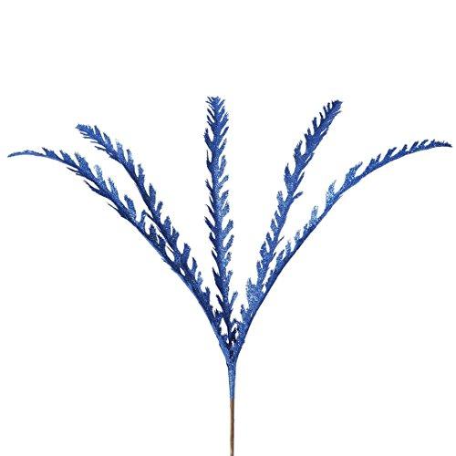 Vickerman L162002 Soap Plant Glitter Spray 6 to a Bag, 22″, Blue