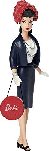 Carlton Cards Heirloom Retro Fashion Barbie Commuter Set Christmas Ornament