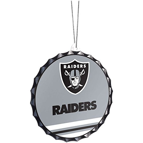 Oakland Raiders Bottle Cap Ornament