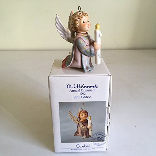 Hummel Light Up the Night-622-3 and 3/8-1992 Angel Ornament