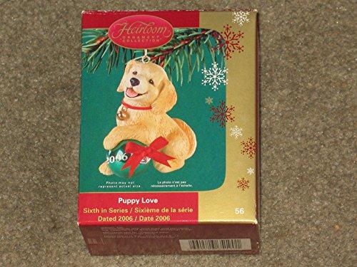 Carlton Cards Heirloom Ornament Puppy Love 2006