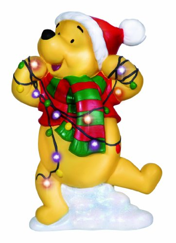 Precious Moments Disney Showcase Collection, Winnie The Pooh, Resin Plaque, LED, 131707