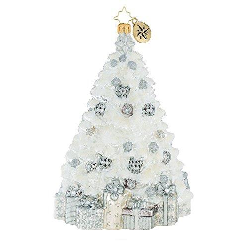 Christopher Radko A Winter White Wonder Christmas Ornament