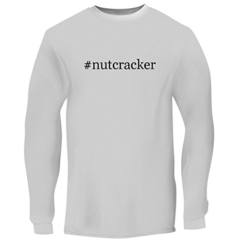 BH Cool Designs #Nutcracker – Men's Long Sleeve Graphic Tee, White, XXX-Large
