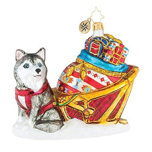 Christopher Radko Arctic Circle Samoyed Christmas Ornament