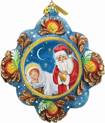 St. Nick Reason for The Season Ornament