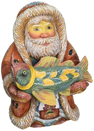 G. Debrekht Native Santa with Fish
